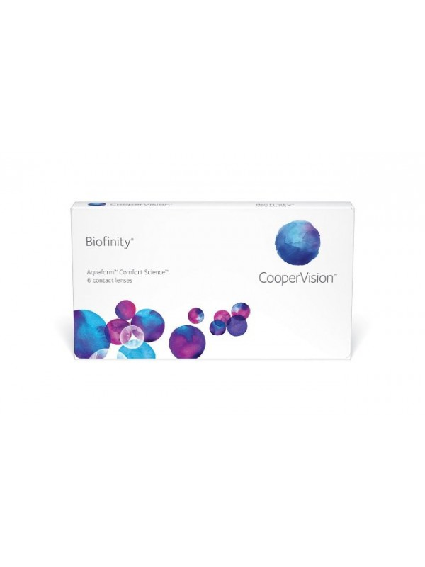 Biofinity 3 шт 630 грн