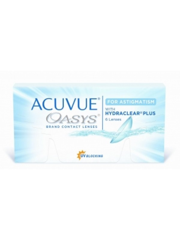 ACUVUE® OASYS® for ASTIGMATISM 6 шт.