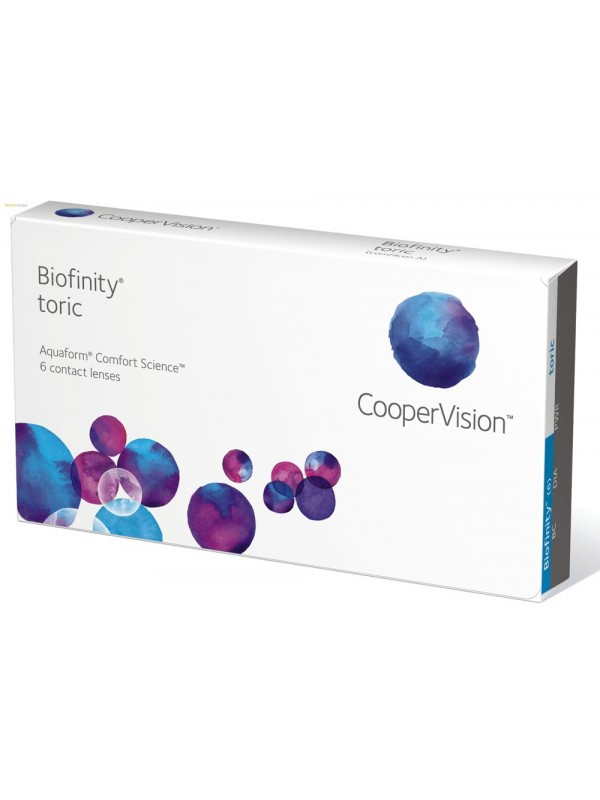 Biofinity Toric - 831 грн  3 шт