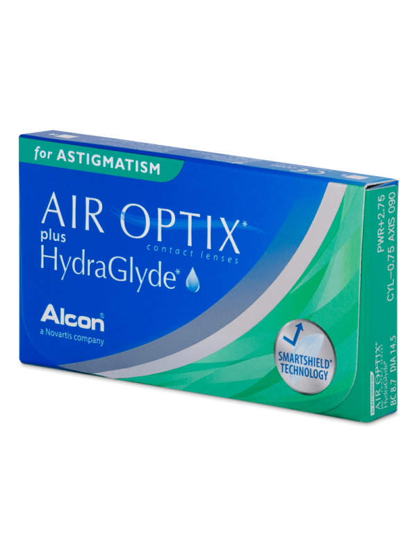 Air Optix plus HydraGlyde for Astigmatism 3 шт - 873 грн