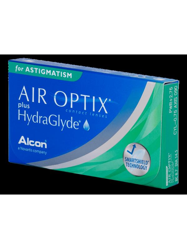 Air Optix plus HydraGlyde for Astigmatism 3 шт - 873 грн