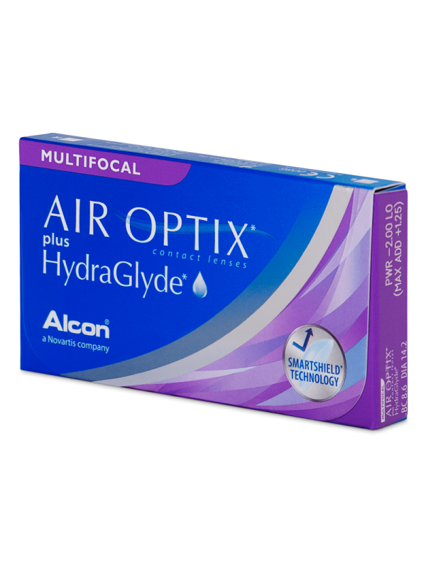 Air Optix plus HydraGlyde Multifocal 3 шт - 1107 грн