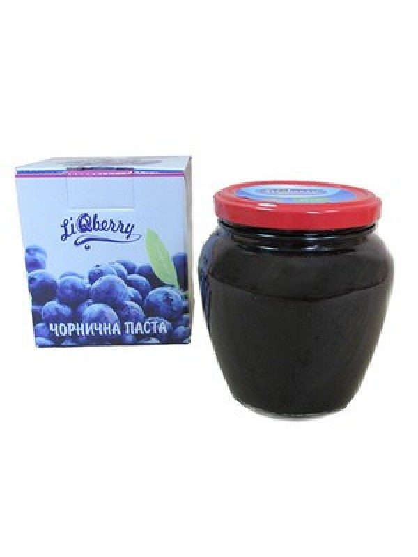 Черничная паста «LiQberry»